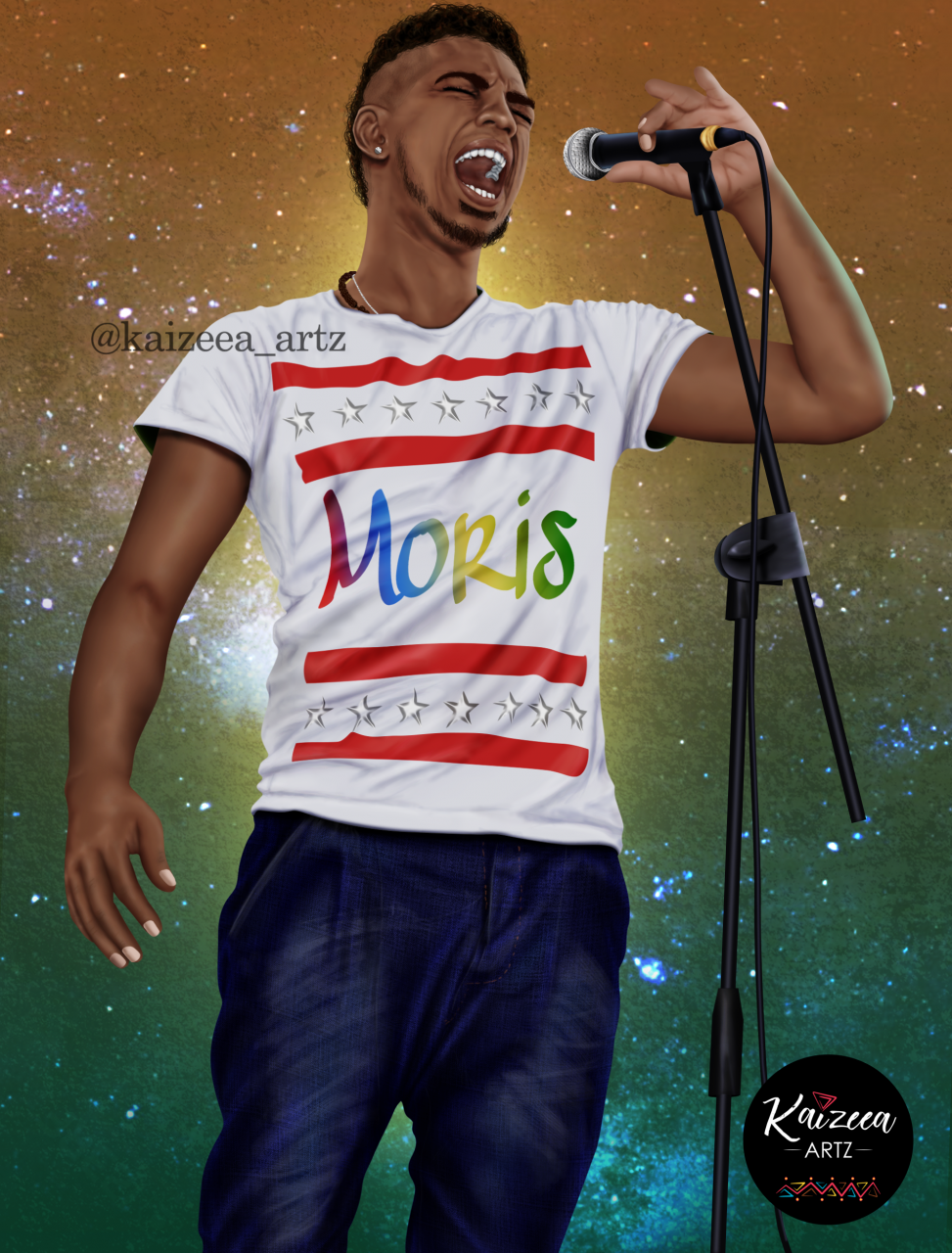 kaizeea artz digital artist mauritius mauritian artist artiste mauricienne moris ile ,aurice mauritius island singer visual art chanteur dessin art numerique art digital digital art colorful art african art best mauritian artist rouge bleu jaune vert instagram facebook top artist meilleure artiste digital painting realistic art